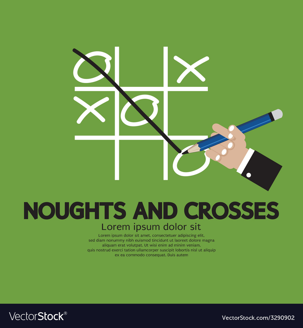 Noughts and crosses vector | Price: 1 Credit (USD $1)