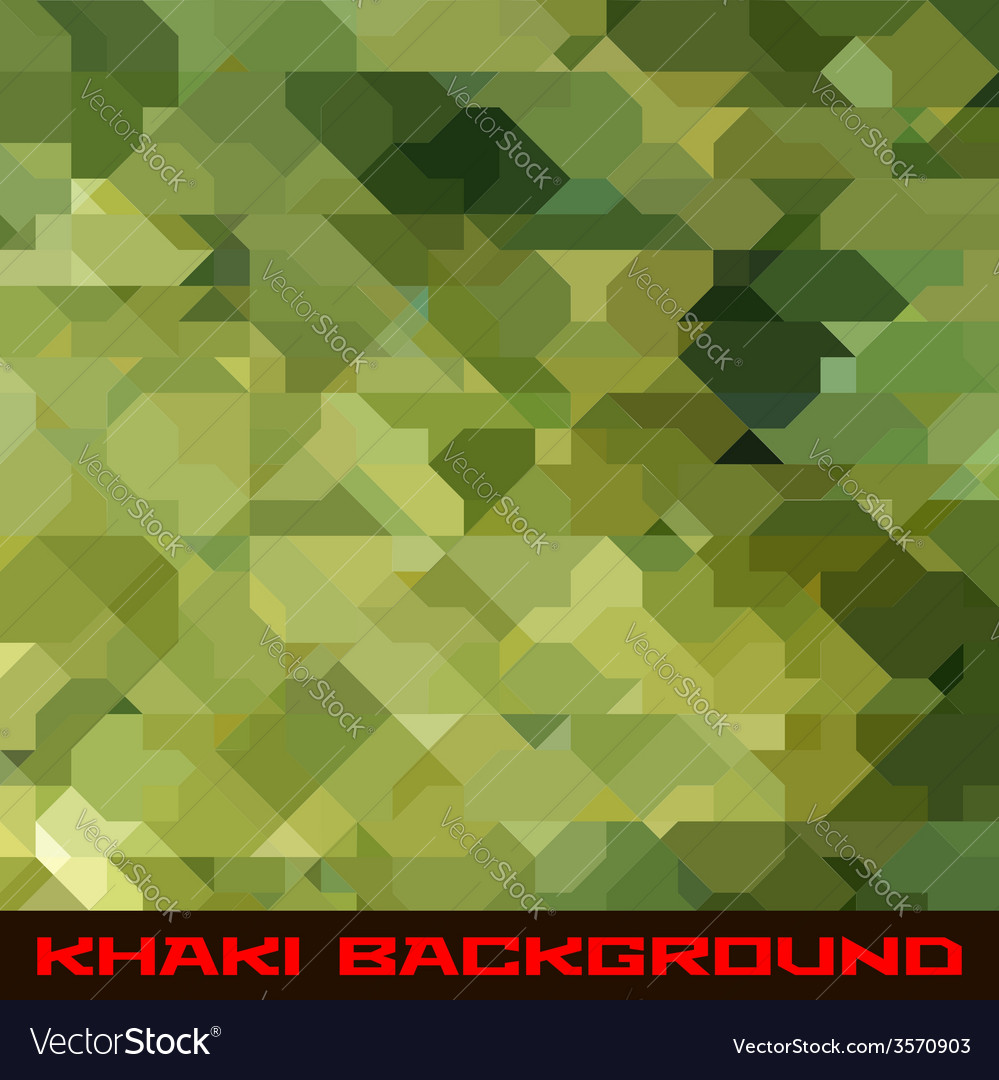 Khaki background with geometric stains vector | Price: 1 Credit (USD $1)