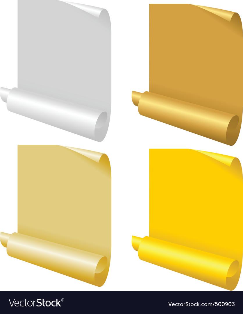 Paper scrolls vector   Price: 3 Credit (USD $3)