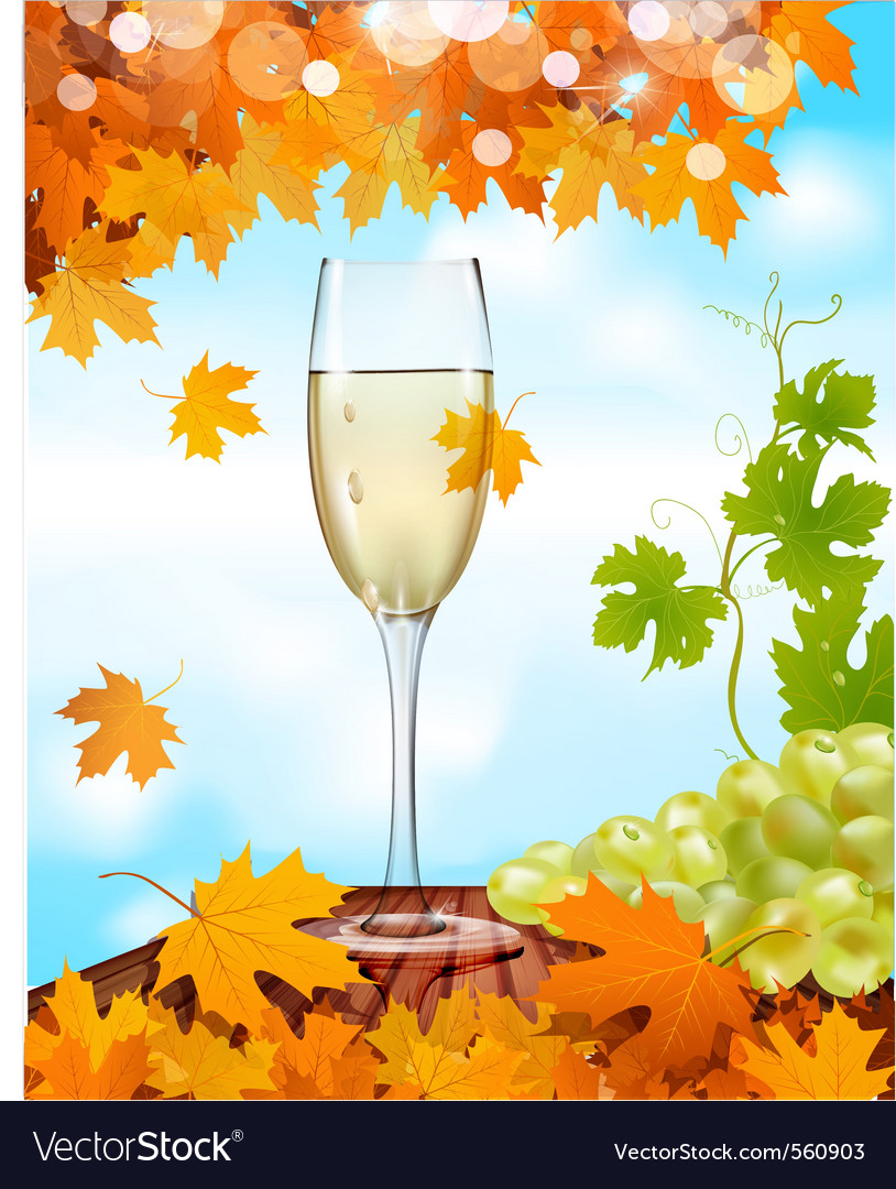 Sparkling wine background vector | Price: 1 Credit (USD $1)