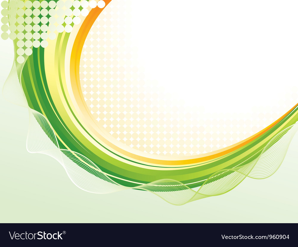 Wave pattern background vector | Price: 1 Credit (USD $1)