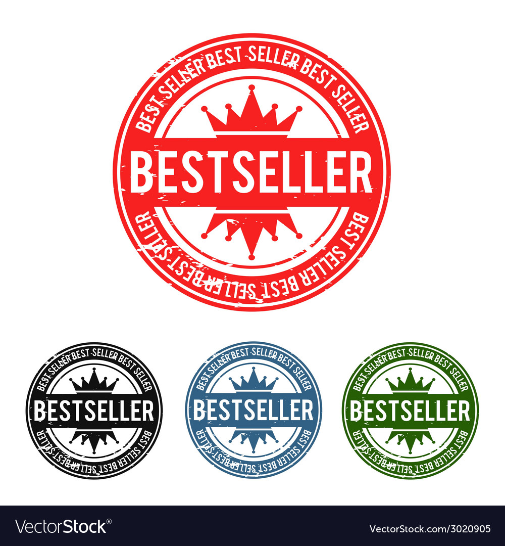Bestseller grunge stamp vector | Price: 1 Credit (USD $1)