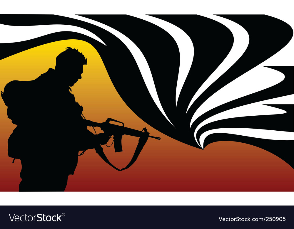 Soldier of fortune vector | Price: 1 Credit (USD $1)