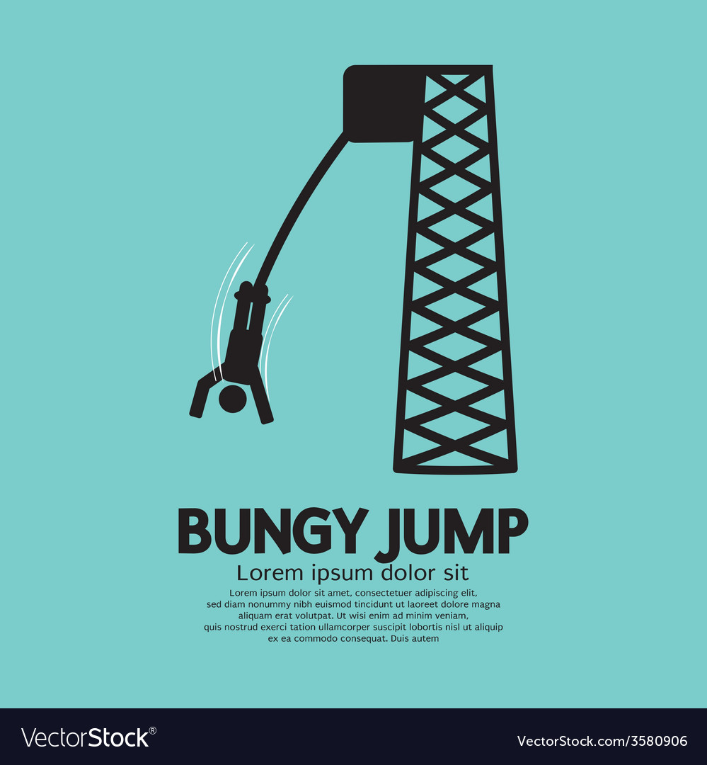 Bungy jump vector | Price: 1 Credit (USD $1)