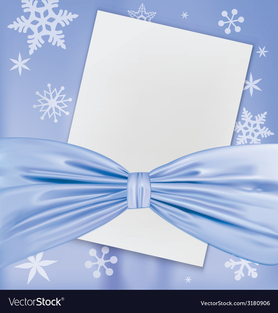Christmas blank white paper vector | Price: 1 Credit (USD $1)