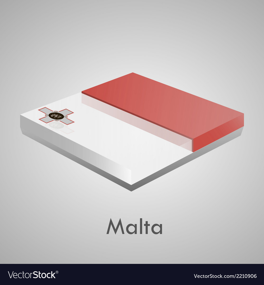 European flags set - malta vector   Price: 1 Credit (USD $1)