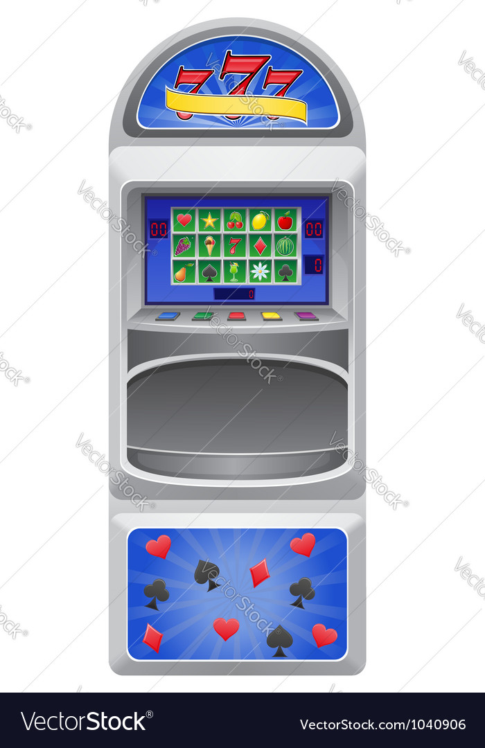 Slot machine 01 vector | Price: 1 Credit (USD $1)