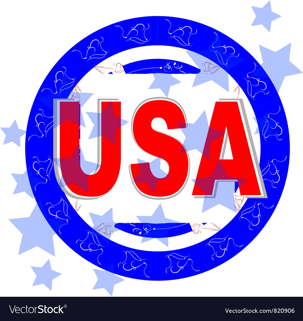 Usa  american independence day vector | Price: 1 Credit (USD $1)