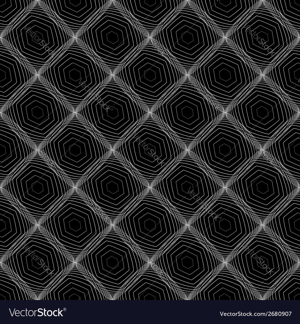 Design seamless diamond web pattern vector | Price: 1 Credit (USD $1)