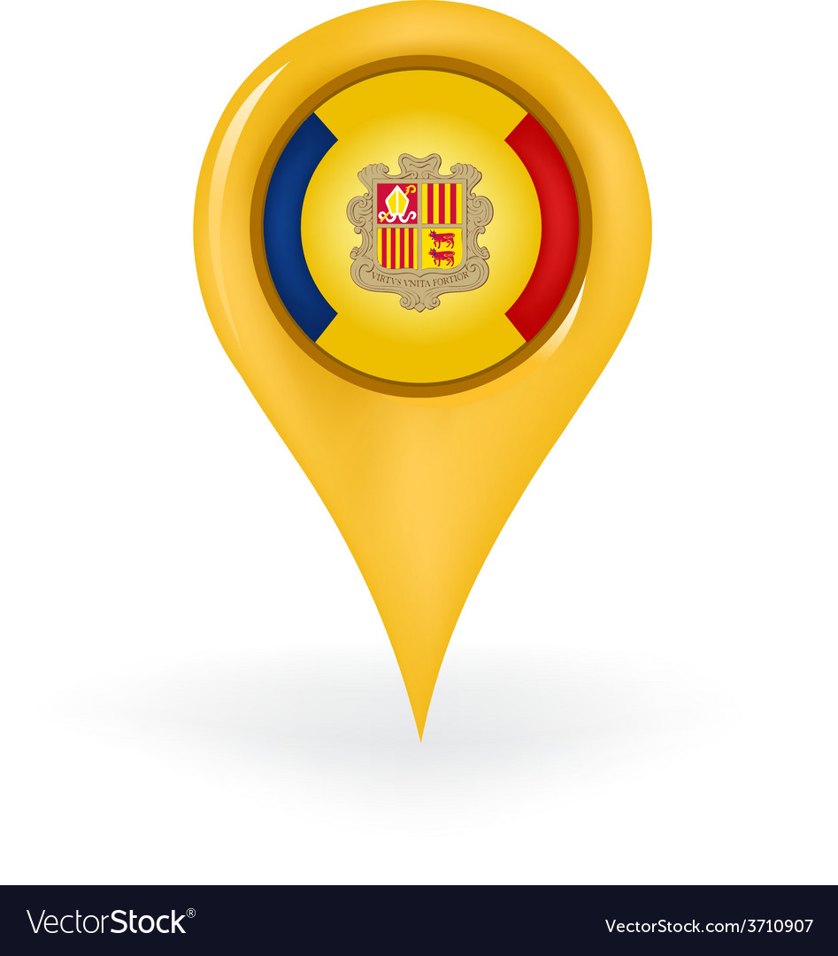 Location andorra vector | Price: 1 Credit (USD $1)