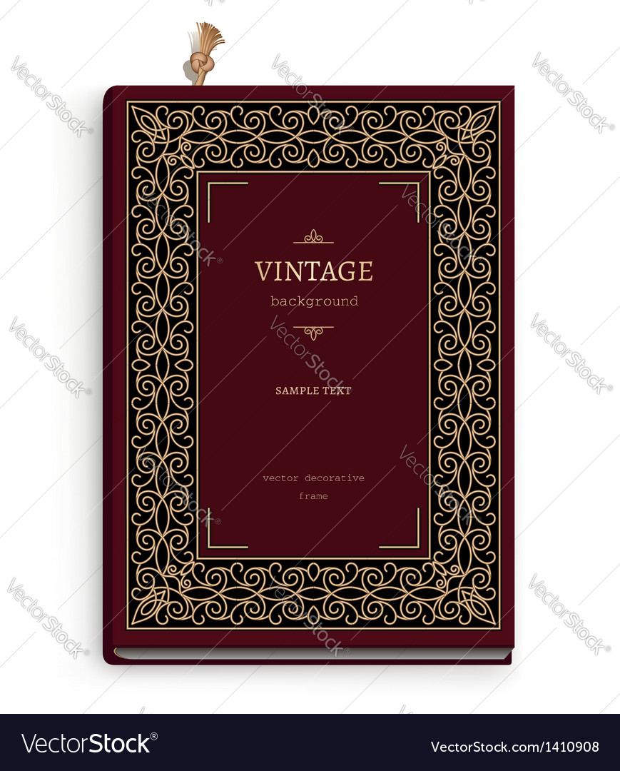 Realistic book vector | Price: 1 Credit (USD $1)