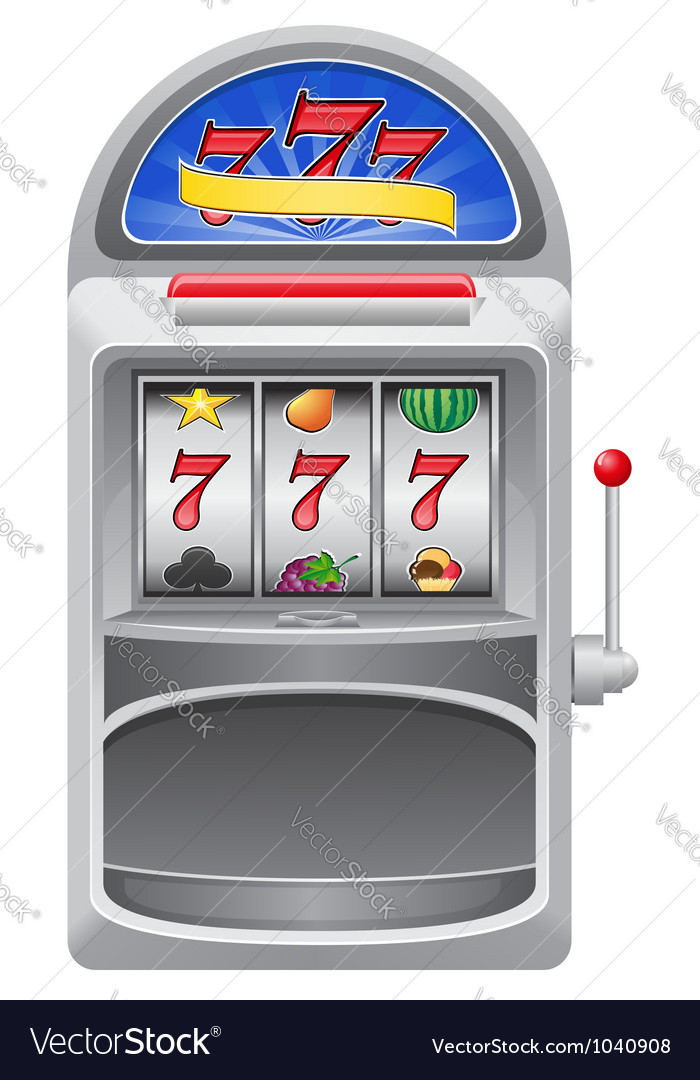 Slot machine 02 vector | Price: 1 Credit (USD $1)