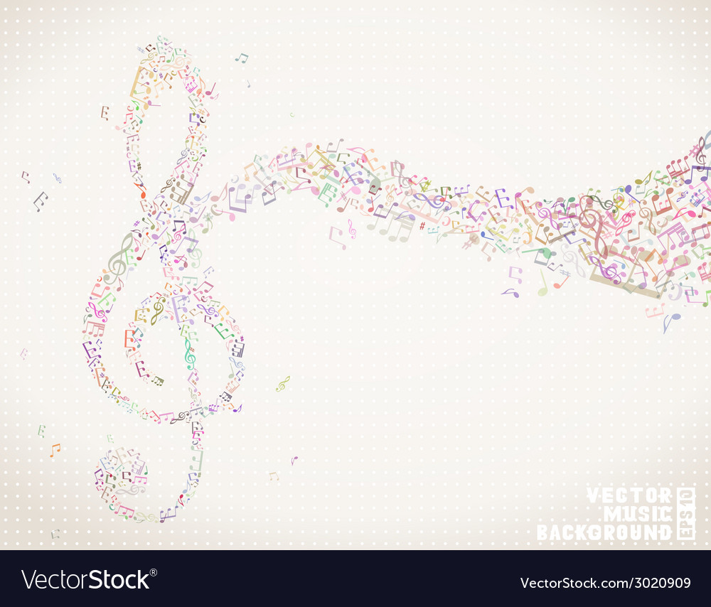 Music colorful background vector | Price: 1 Credit (USD $1)