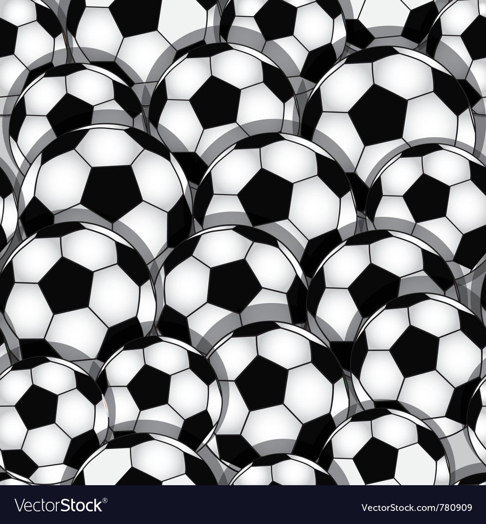 Soccer seamless texture vector | Price: 1 Credit (USD $1)