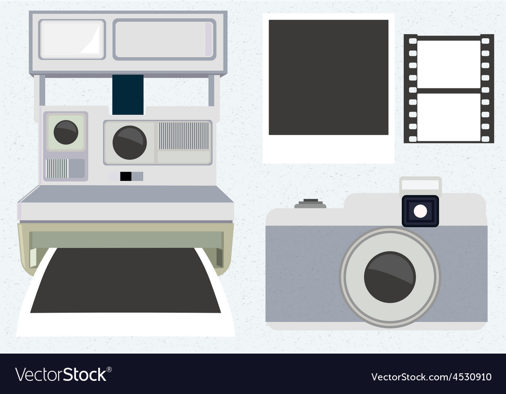 Camera set vector | Price: 1 Credit (USD $1)
