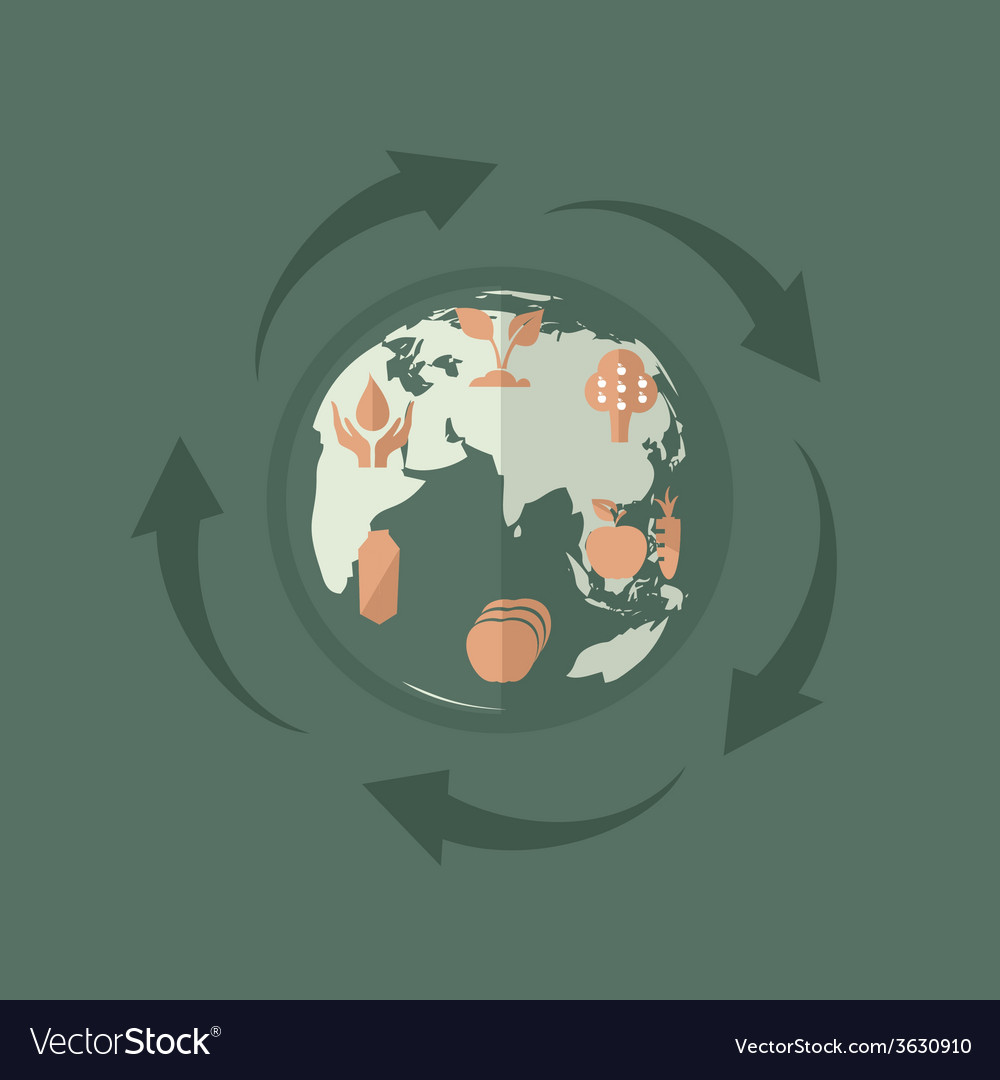 Environmental product vector | Price: 1 Credit (USD $1)