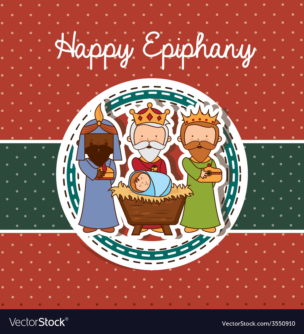 Happy epiphany design vector | Price: 1 Credit (USD $1)