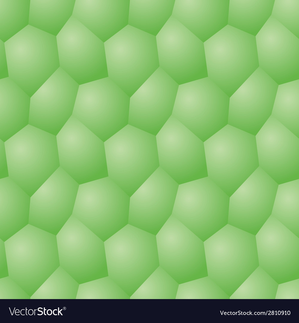 Seamless pattern - polygonal green background vector | Price: 1 Credit (USD $1)