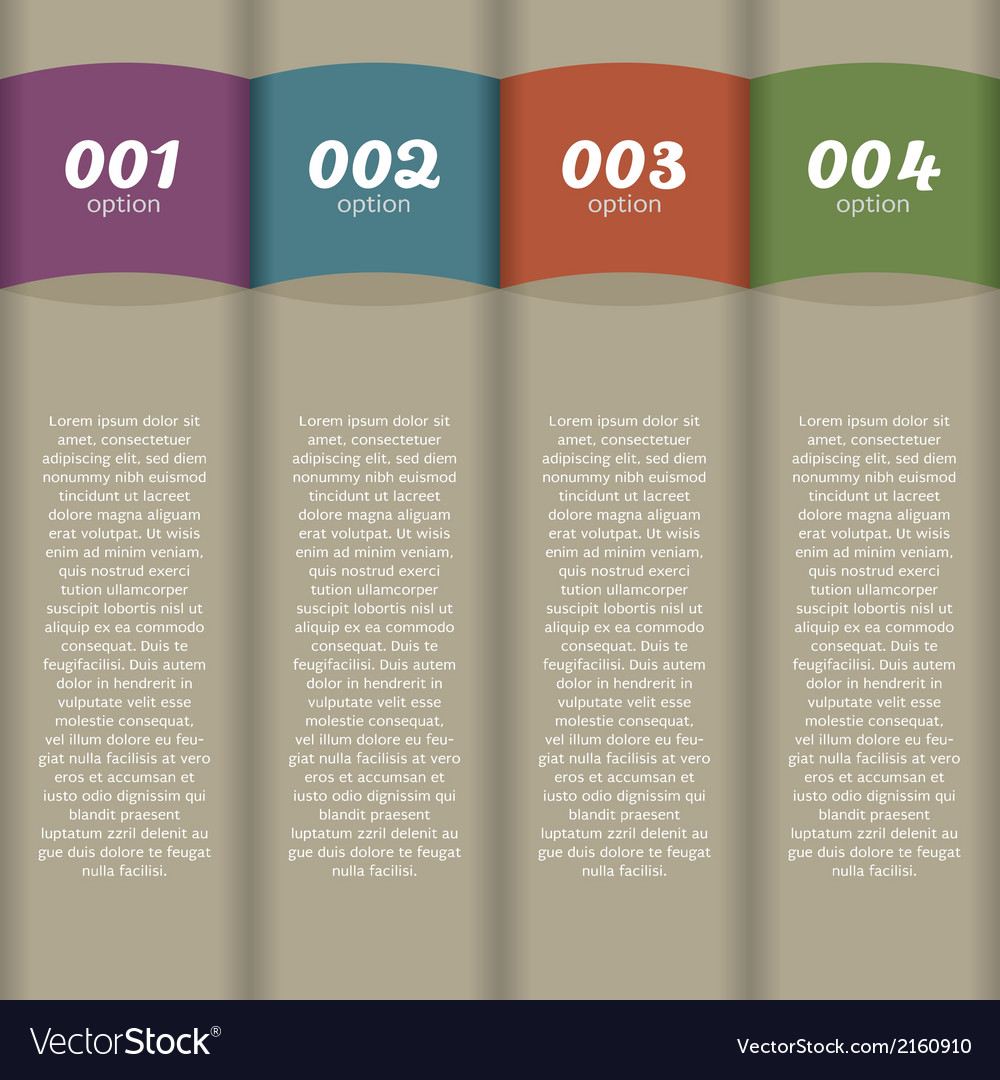 Vintage vertical banners vector | Price: 1 Credit (USD $1)