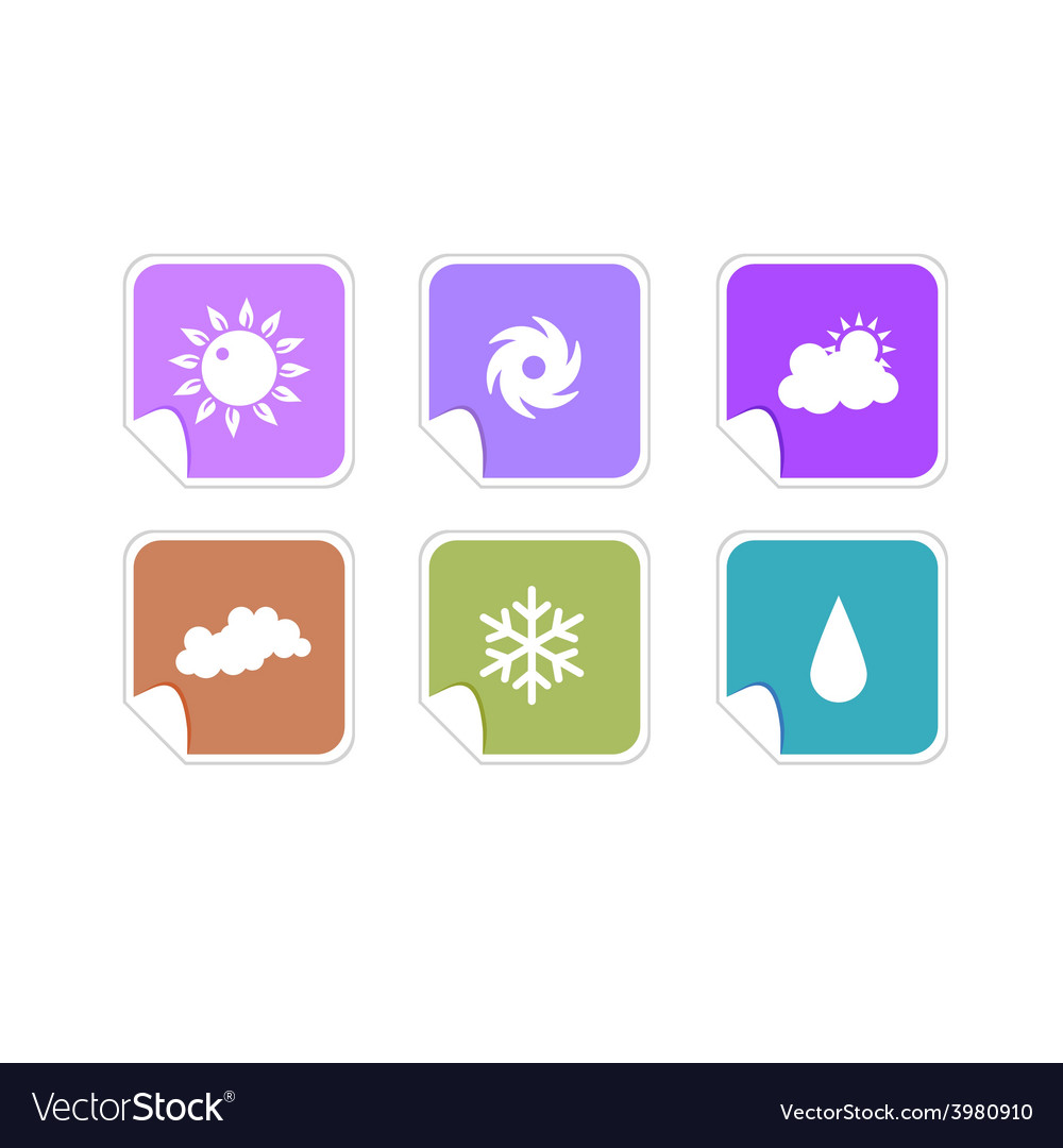 Weather icons vector   Price: 1 Credit (USD $1)