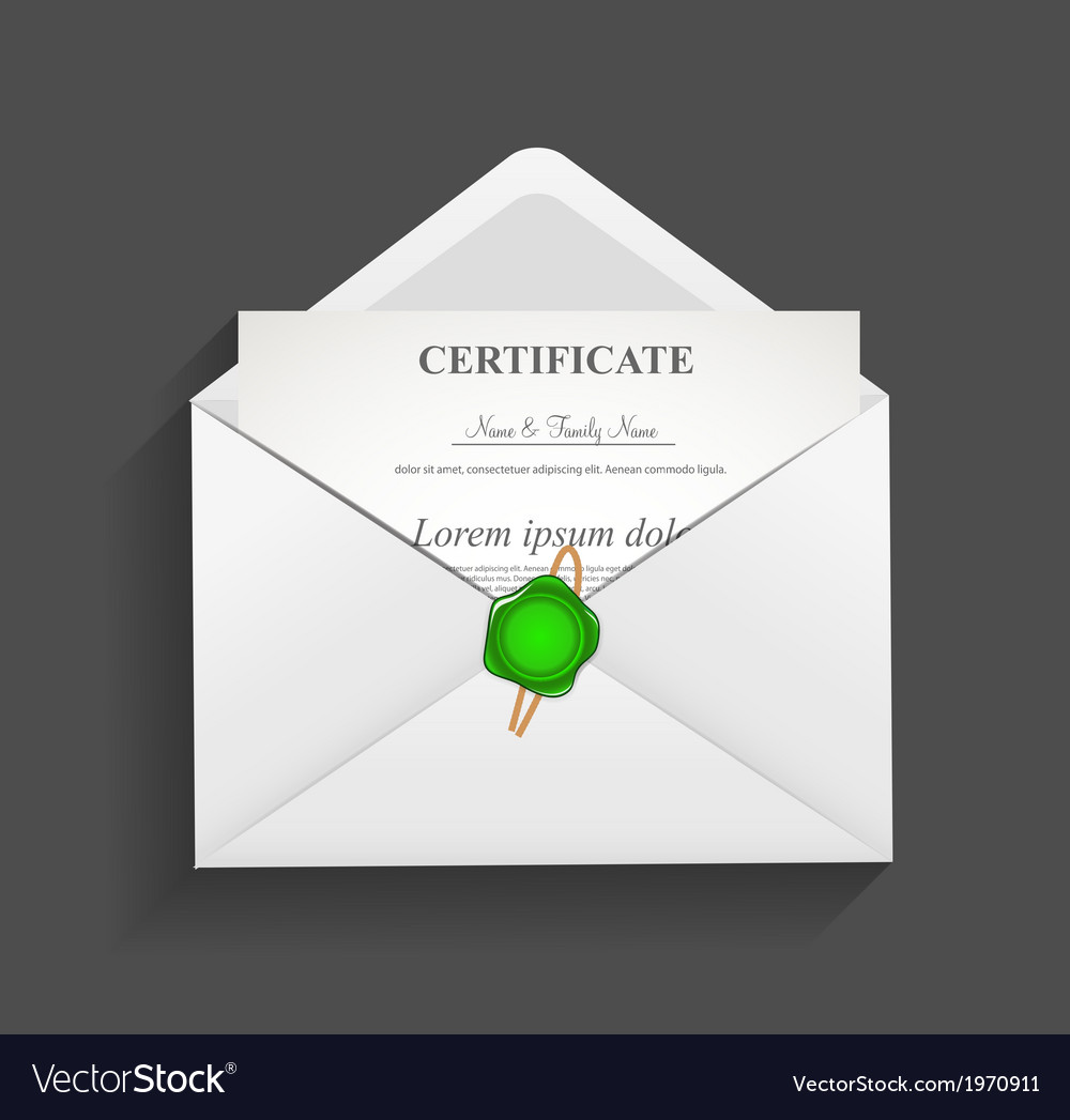 Envelope with stamp vector | Price: 1 Credit (USD $1)