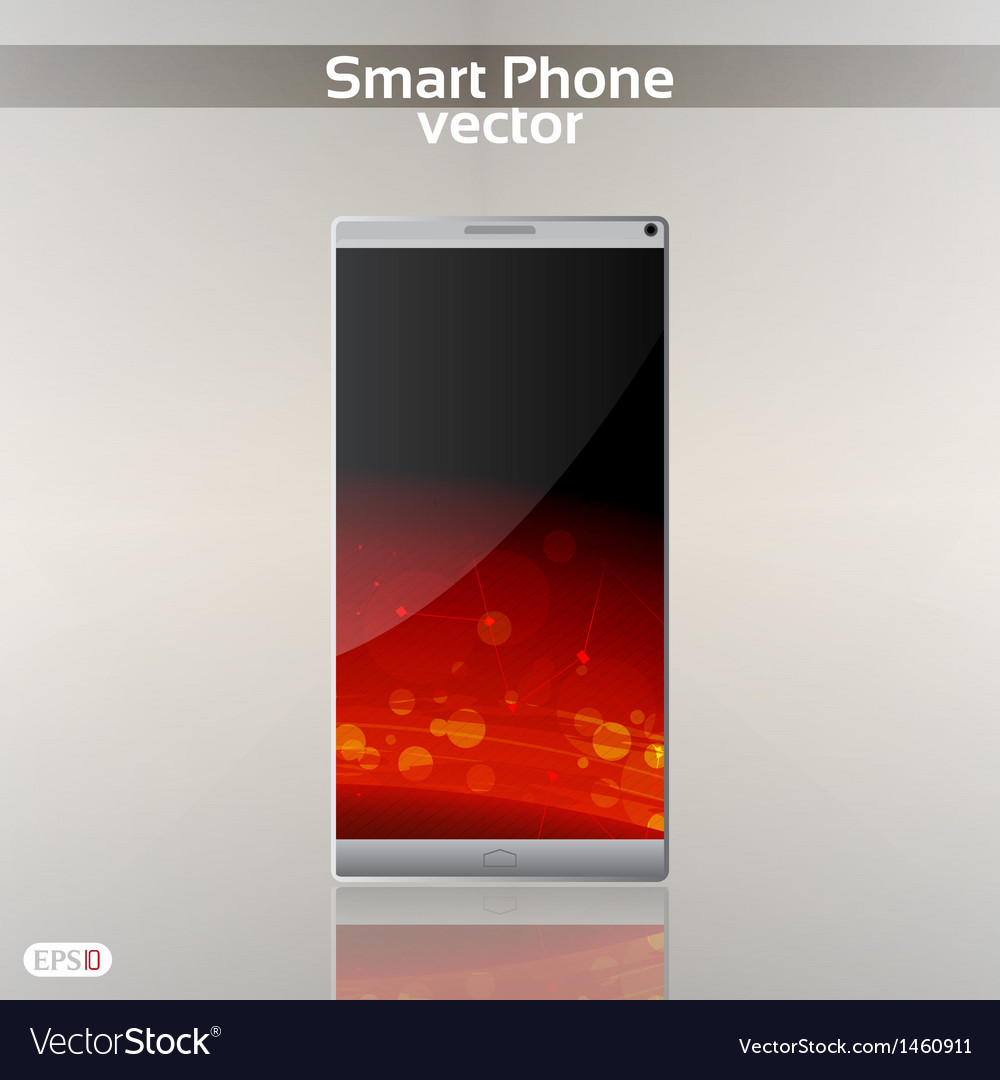 Smart phone background vector | Price: 1 Credit (USD $1)