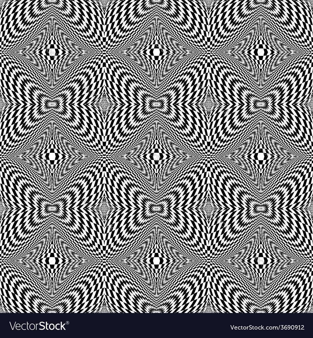 Design seamless monochrome checkered background vector | Price: 1 Credit (USD $1)