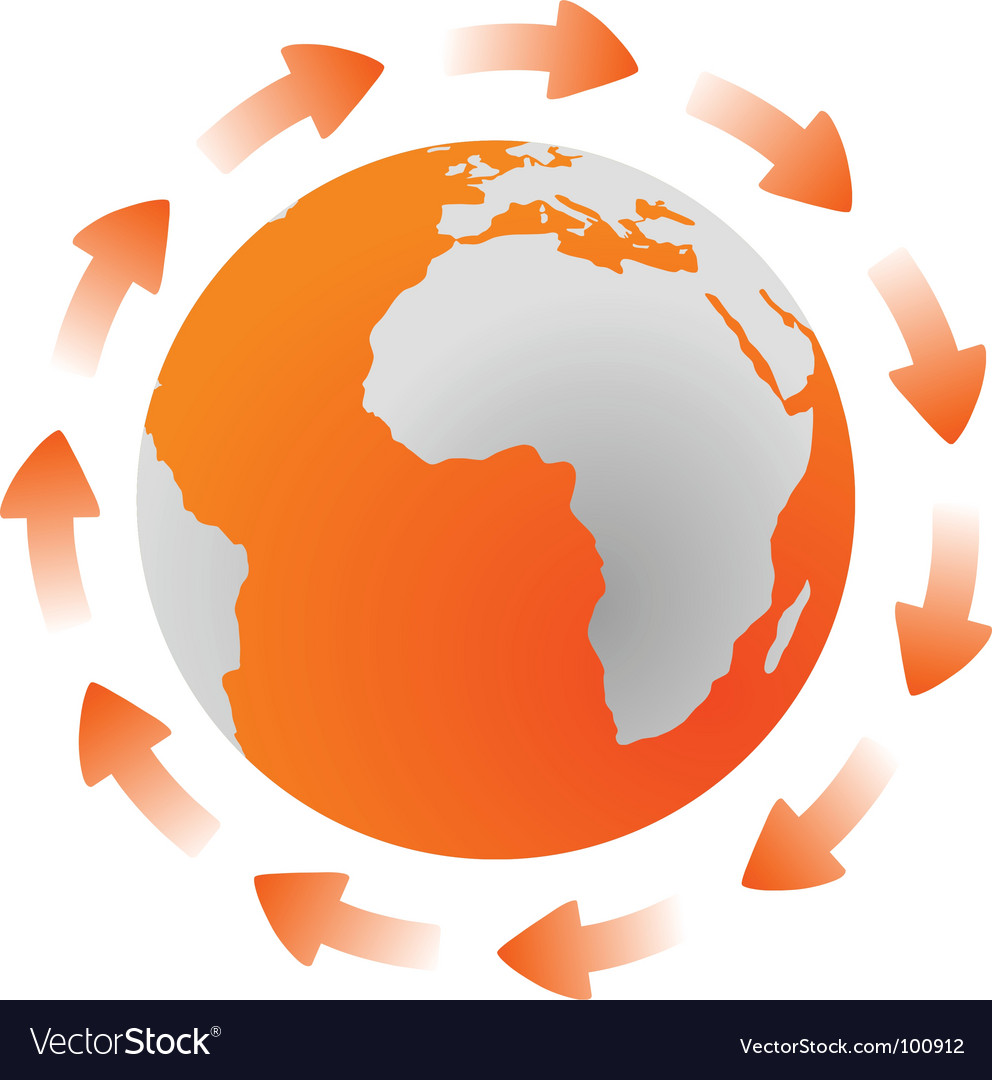 Global cycle vector | Price: 1 Credit (USD $1)