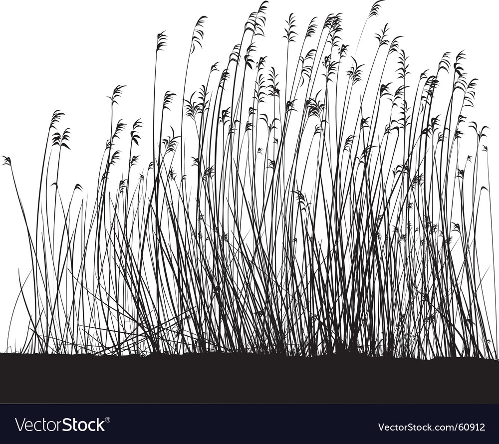 Grass landscape vector | Price: 1 Credit (USD $1)