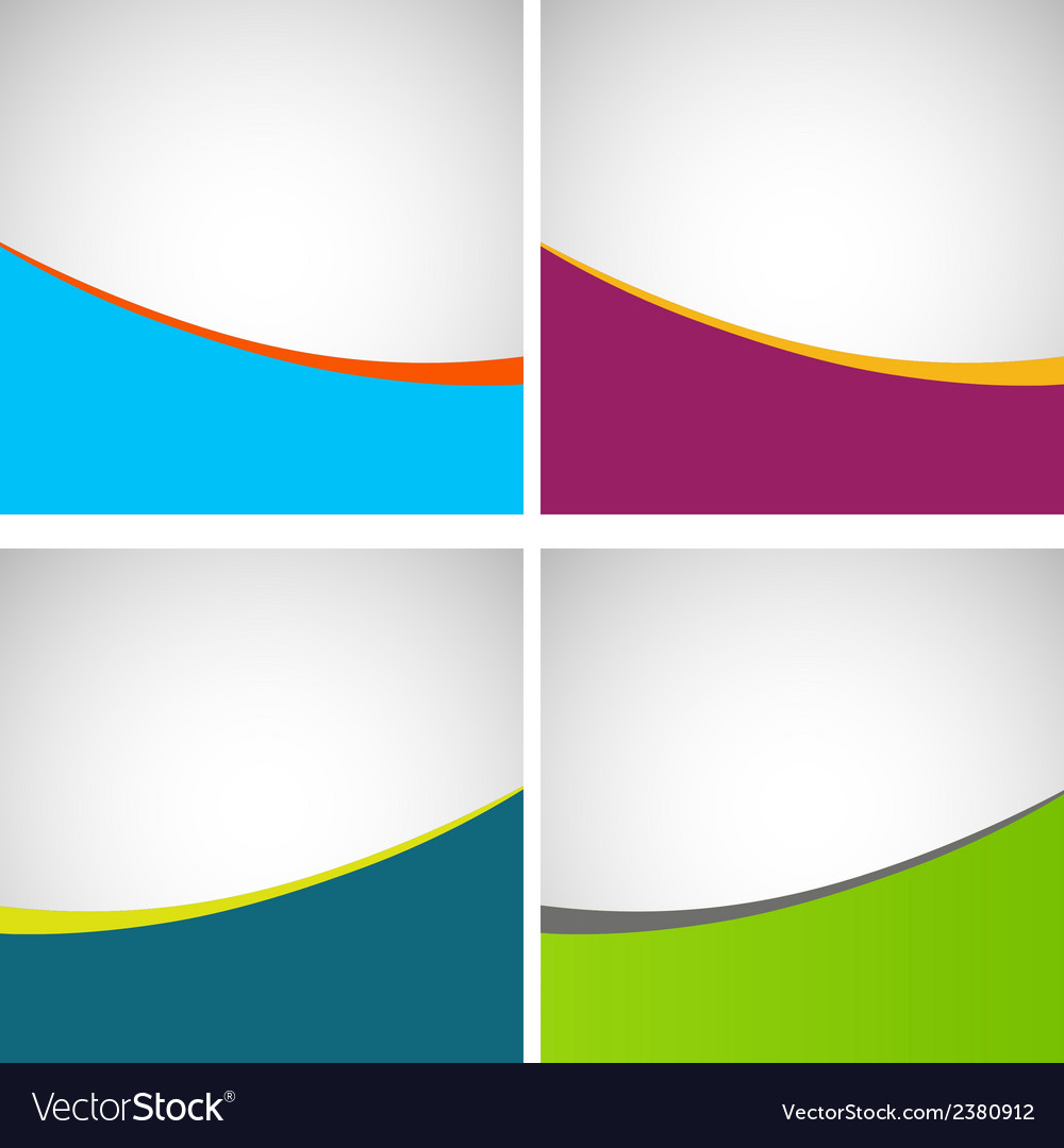 Set of simple stylish backgrounds eps vector | Price: 1 Credit (USD $1)
