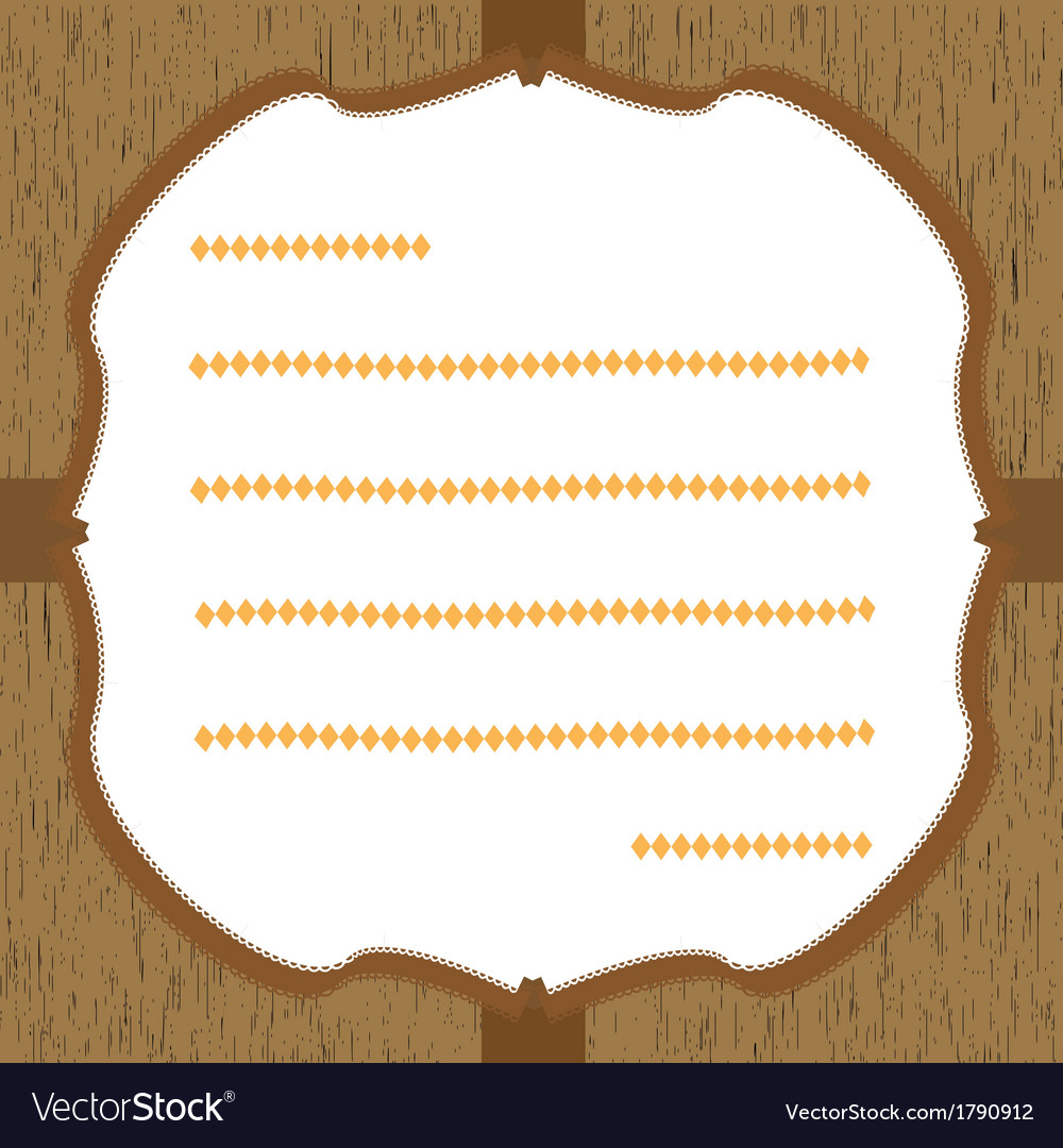 Wood pattern card2 vector | Price: 1 Credit (USD $1)