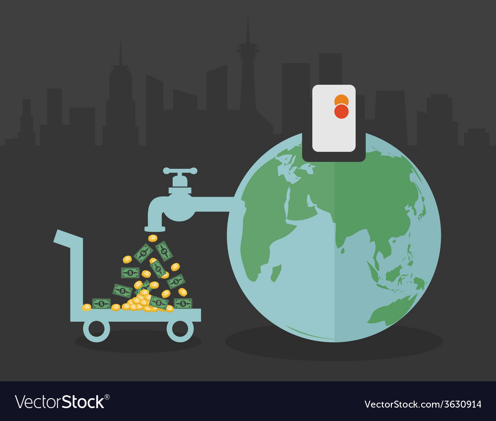 Global economy vector   Price: 1 Credit (USD $1)