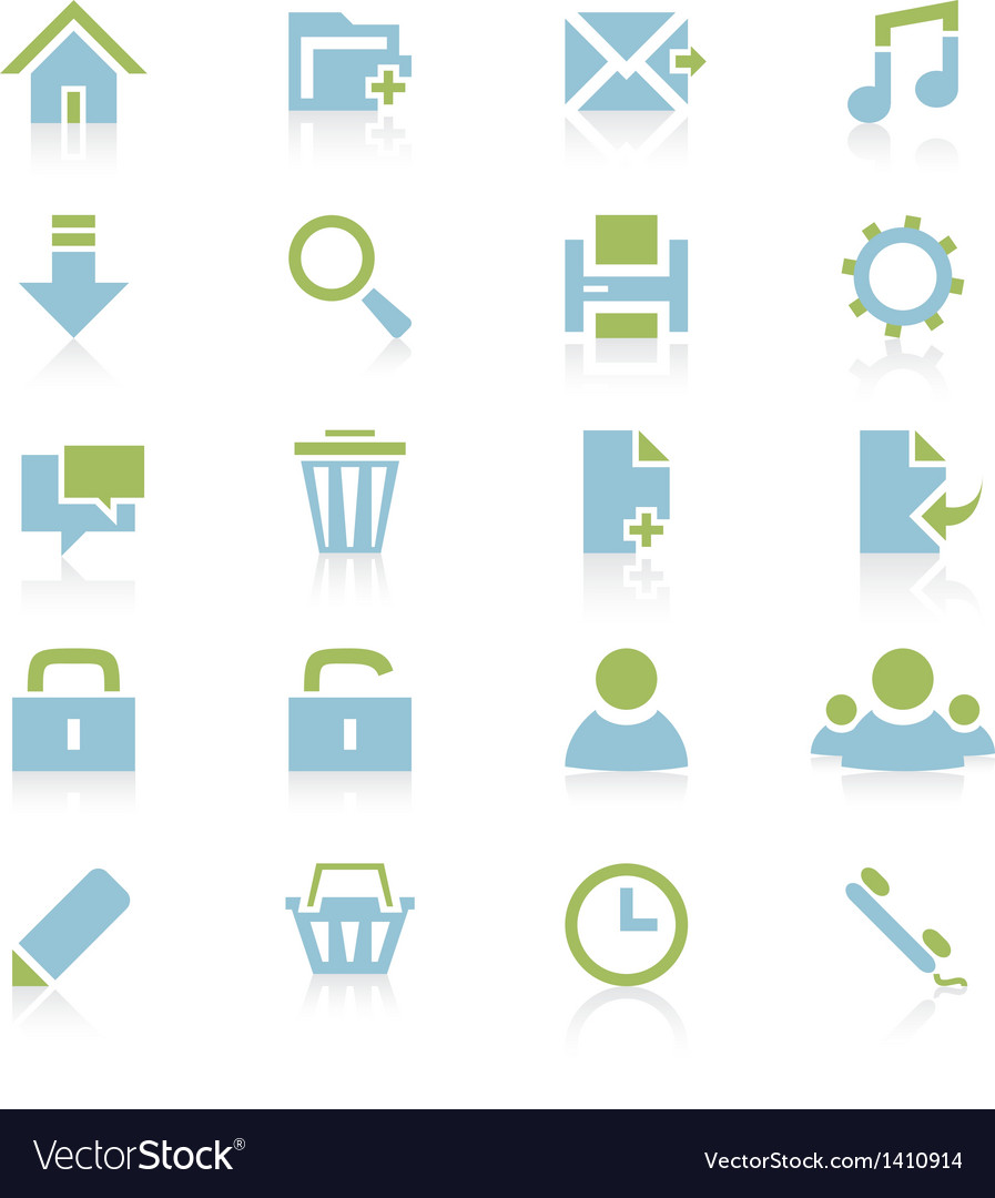 Web icons 6 vector | Price: 1 Credit (USD $1)