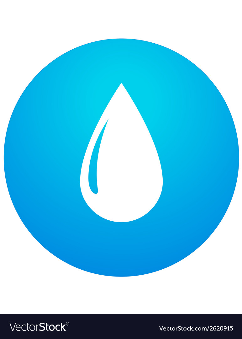 Abstract water drop vector | Price: 1 Credit (USD $1)