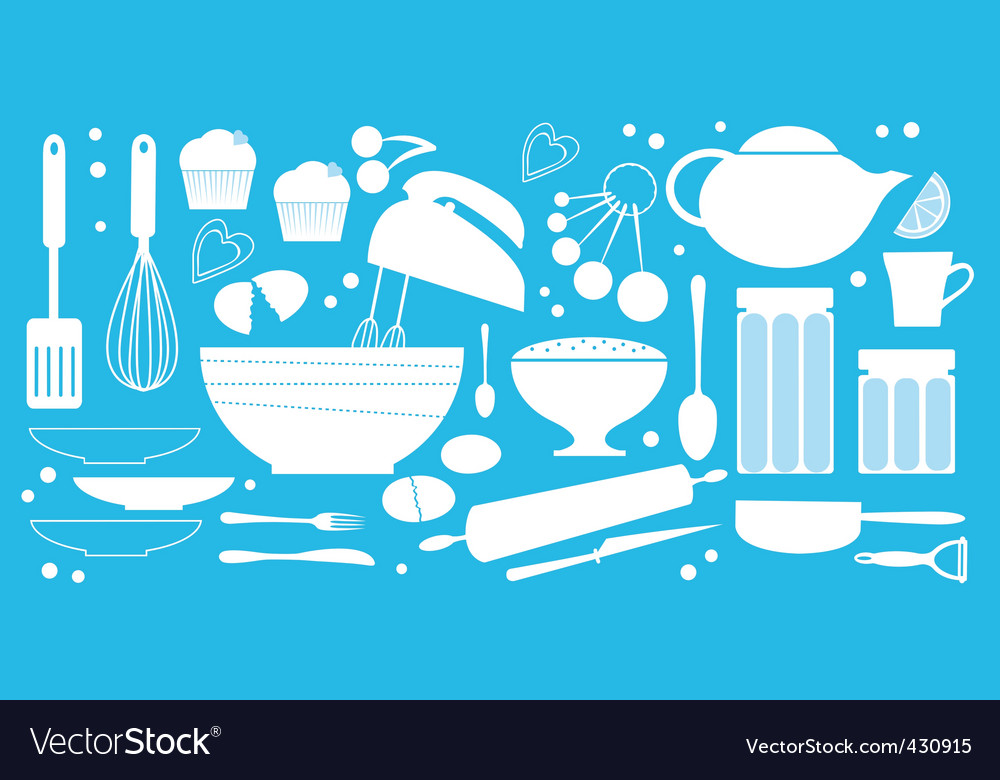 Baking vector | Price: 1 Credit (USD $1)
