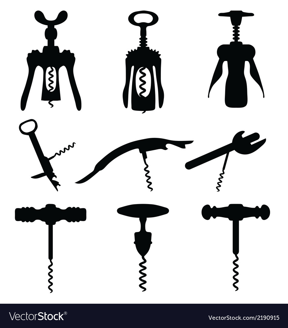Corkscrew 2 vector | Price: 1 Credit (USD $1)