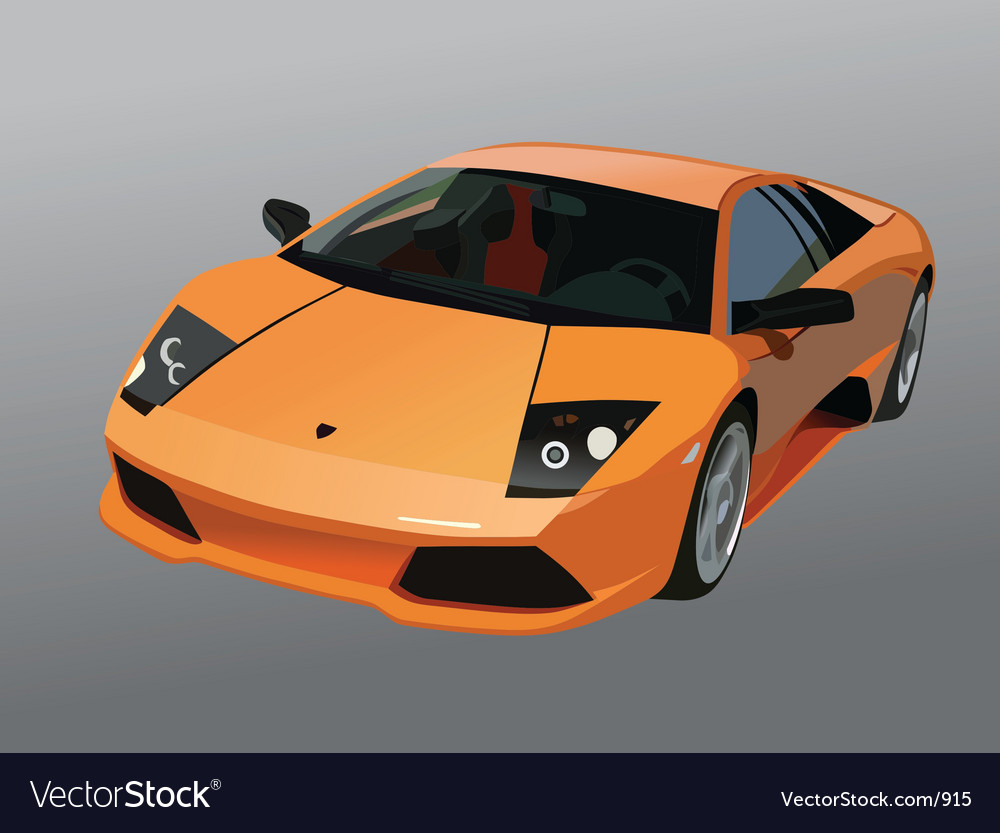 Lamborghini murcielago vector | Price: 5 Credit (USD $5)