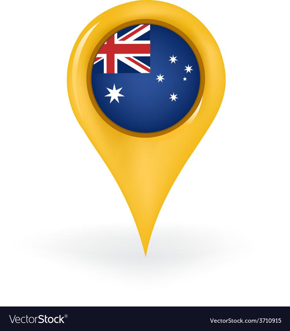 Location australia vector | Price: 1 Credit (USD $1)