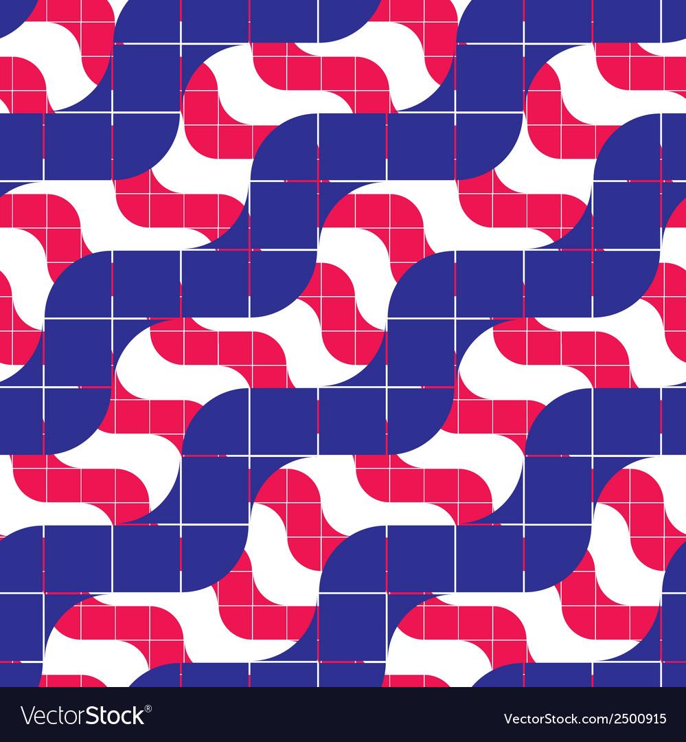 Ornate mosaic seamless pattern geometric vector | Price: 1 Credit (USD $1)