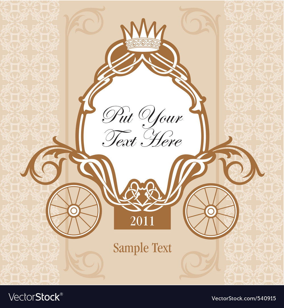 Wedding invitation design vector | Price: 1 Credit (USD $1)