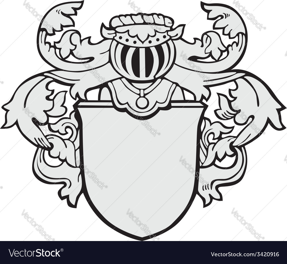 Aristocratic emblem no17 vector | Price: 1 Credit (USD $1)