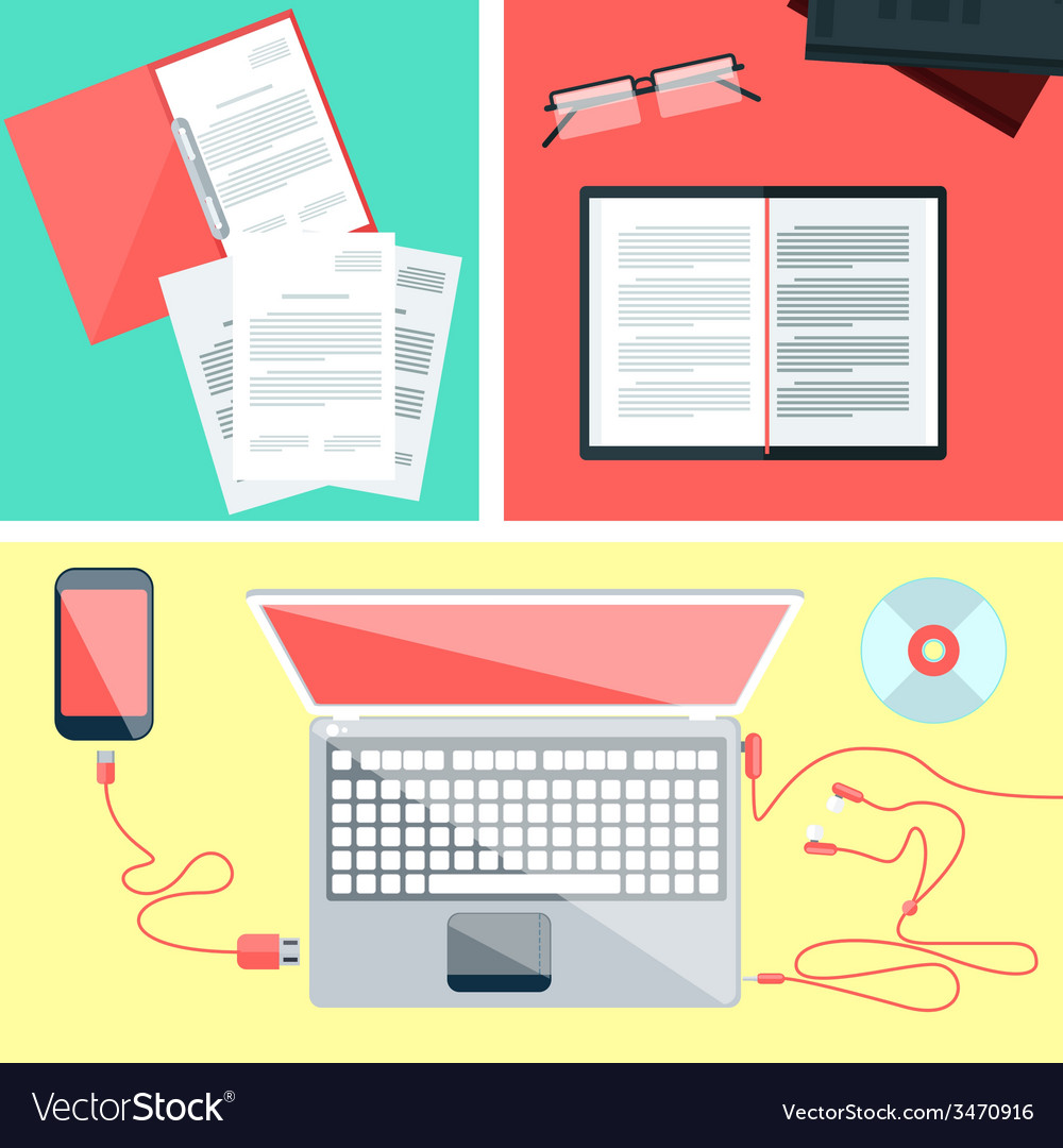 Educational set of tools vector | Price: 1 Credit (USD $1)