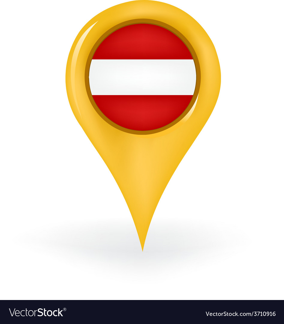 Location austria vector | Price: 1 Credit (USD $1)