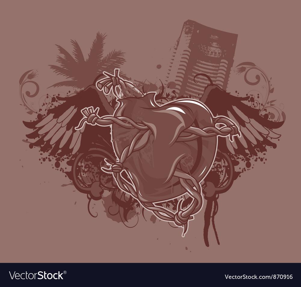 Vintage tshirt design vector | Price: 1 Credit (USD $1)