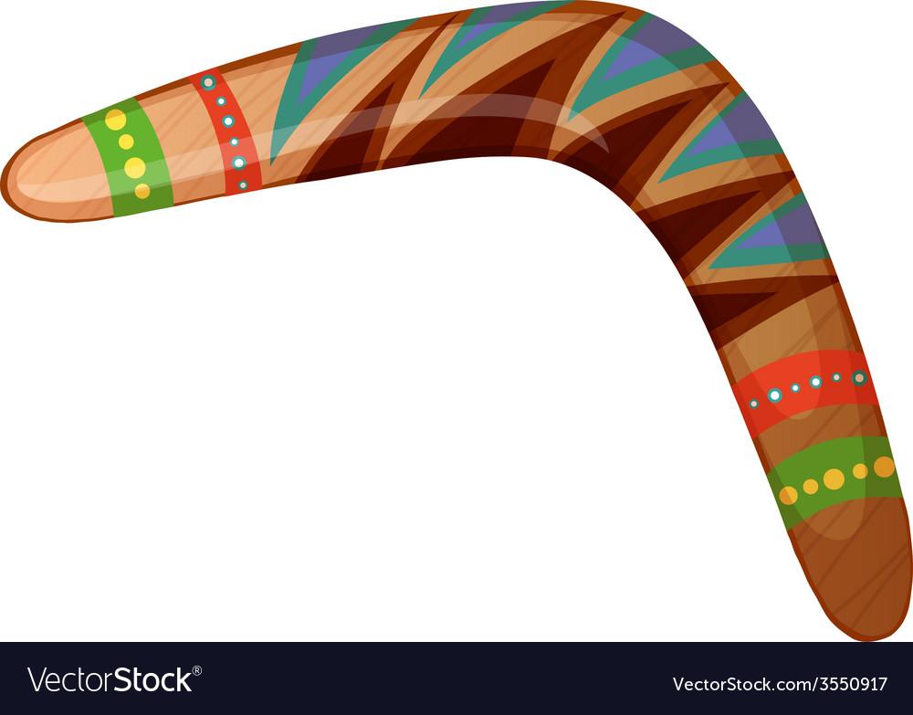 A boomerang vector | Price: 1 Credit (USD $1)