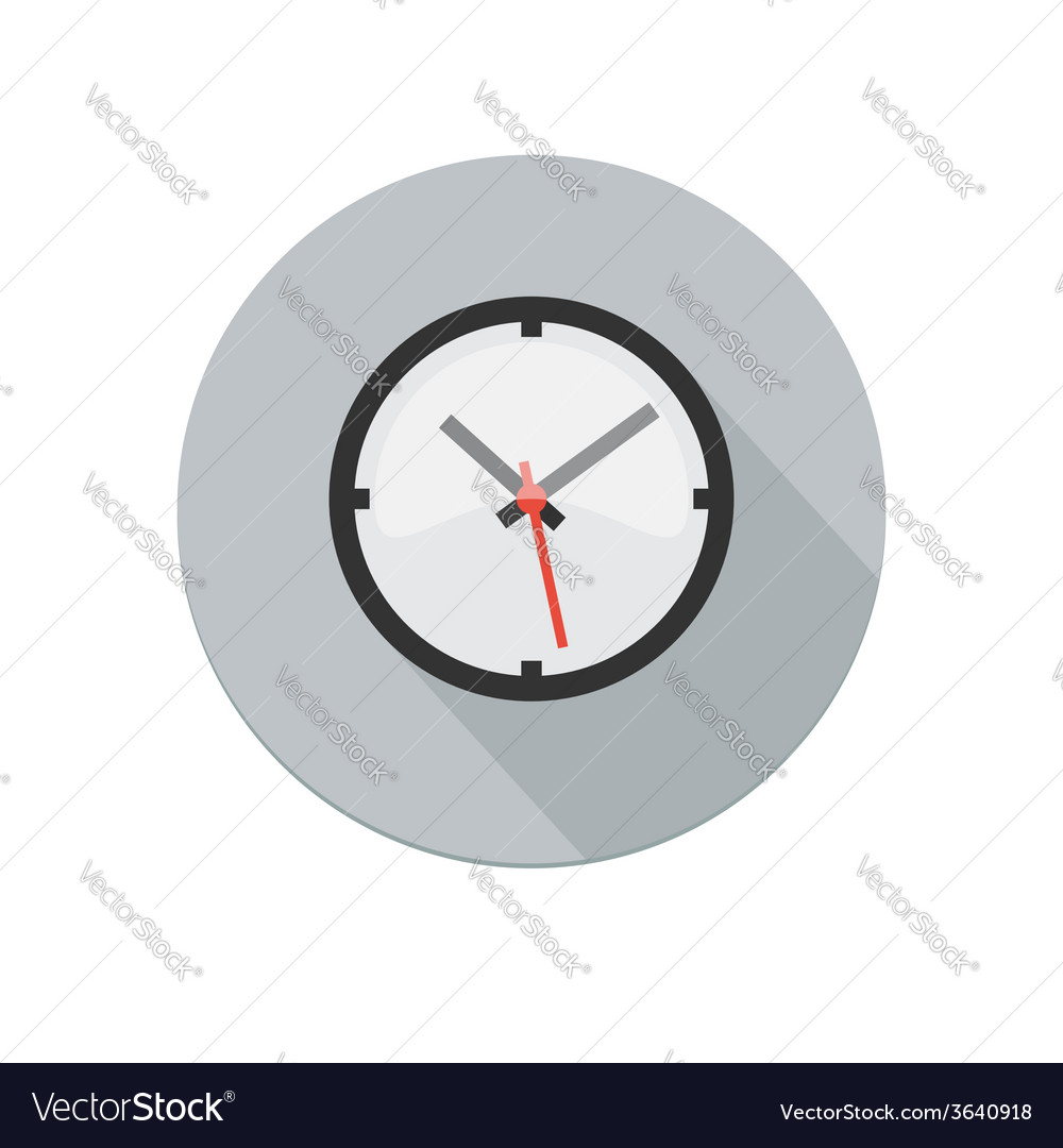 Clock icon vector | Price: 1 Credit (USD $1)