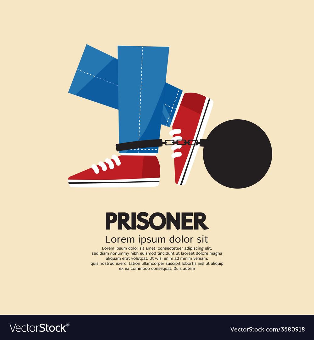 Prisoners iron ball vector | Price: 1 Credit (USD $1)