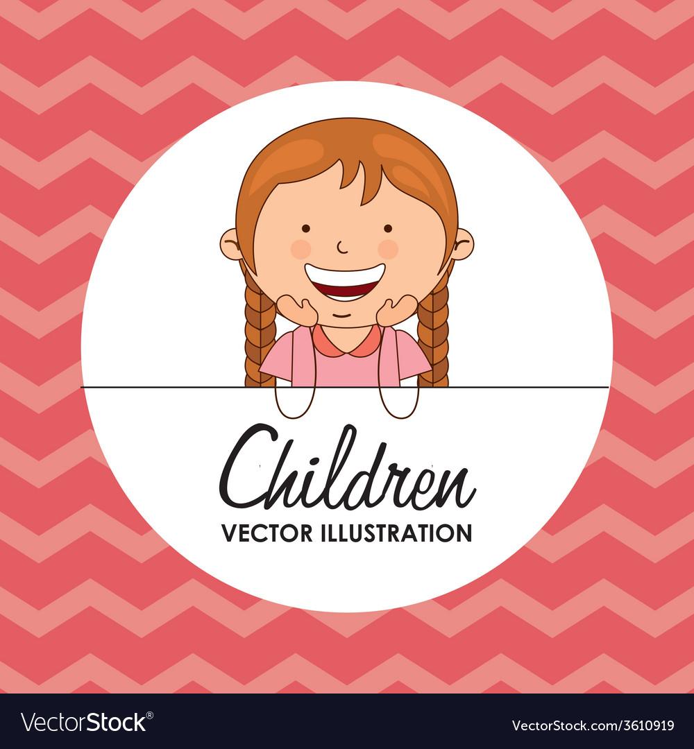 Children vector   Price: 1 Credit (USD $1)