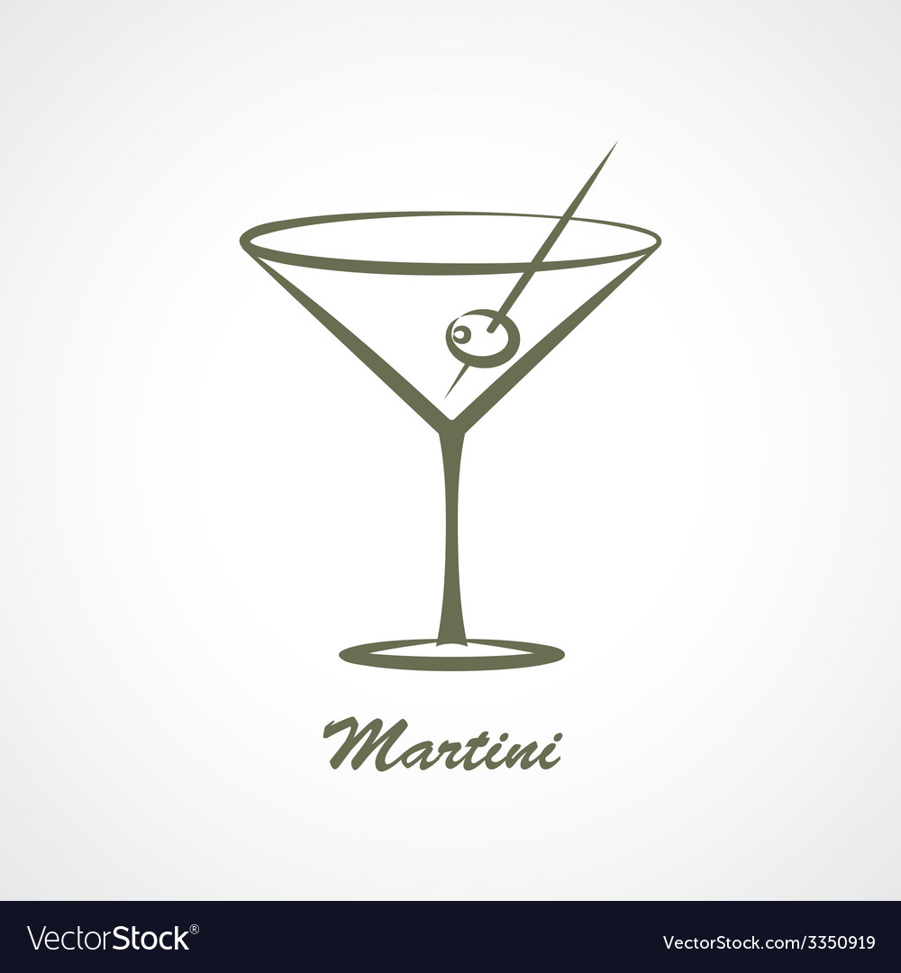 Martini vector | Price: 1 Credit (USD $1)