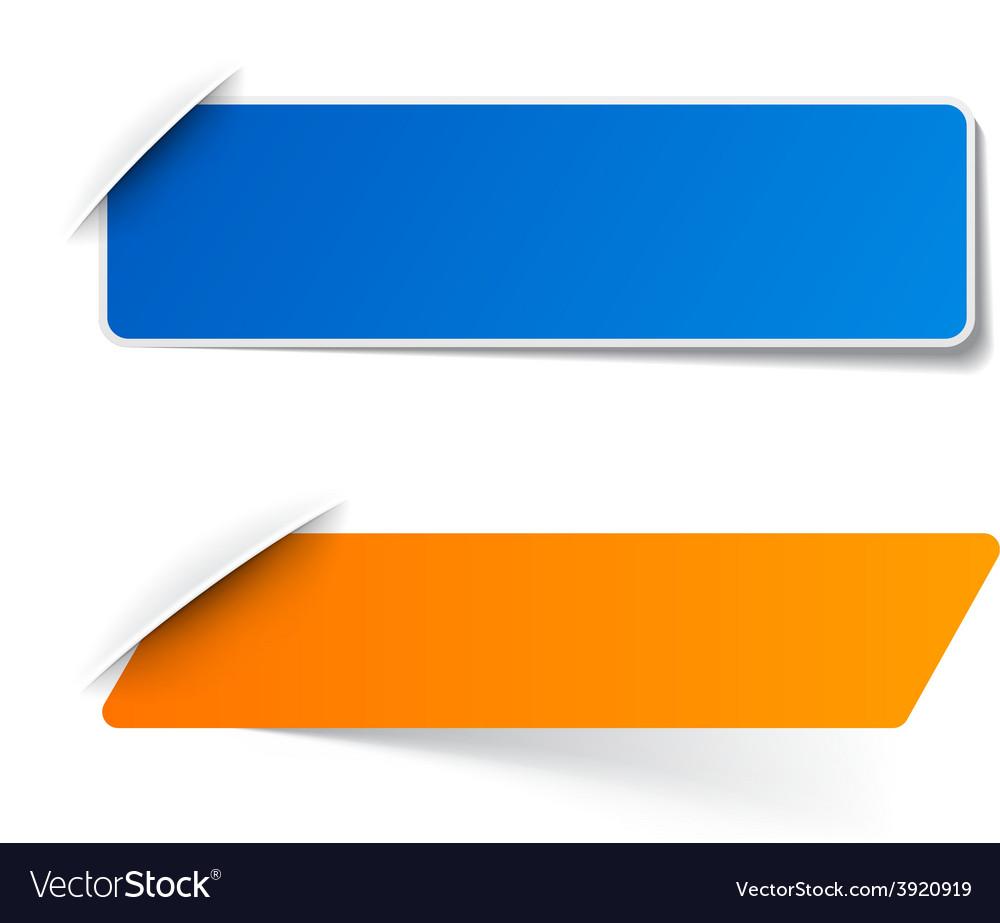 Paper labels vector   Price: 1 Credit (USD $1)
